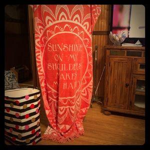 Dillard's beach towels new